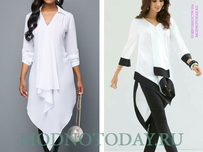 Блузки-туники в стиле бохо