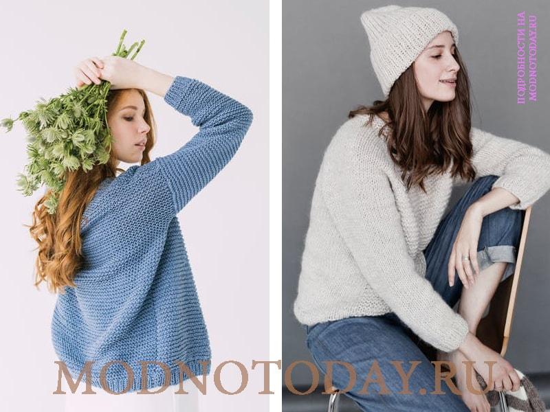 Идеи для фотосессии в свитере и джинсах