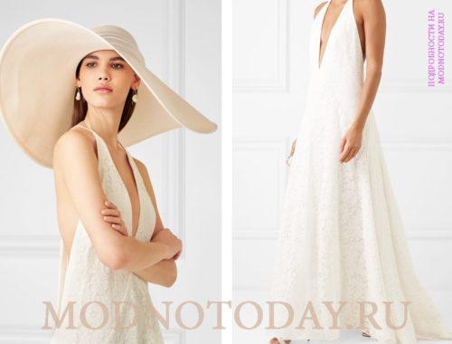 С какой шляпой носить платье?