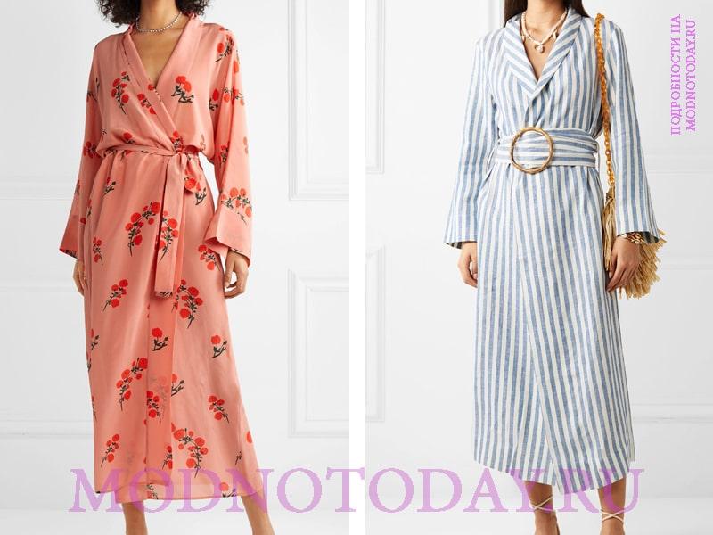 Повседневные платья-халат