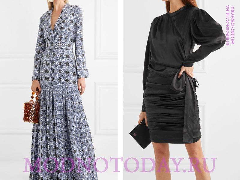 Платья с длинными рукавами