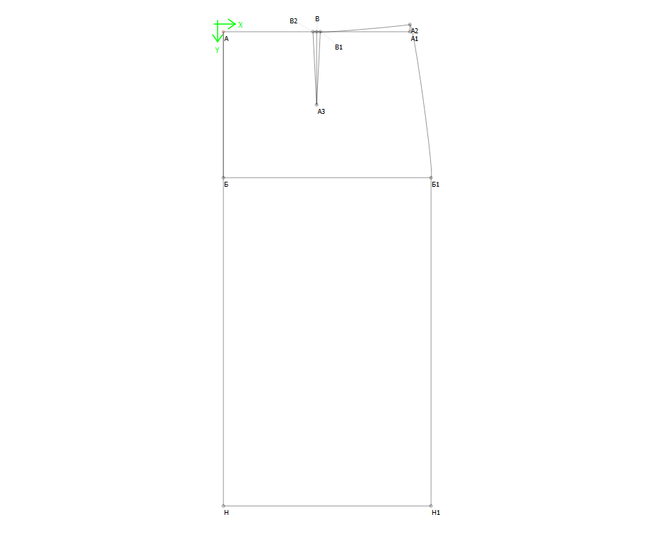Построение выкройки базовой юбки - фото 10